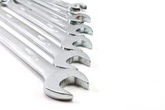 Wyrwania spanners narzędzia Fotografia Royalty Free