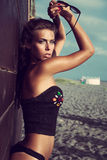 Wyrzucać na brzeg modę Fotografia Stock