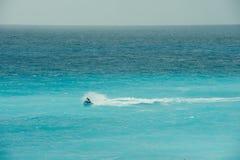 wyrzucać na brzeg Cancun fotografia royalty free