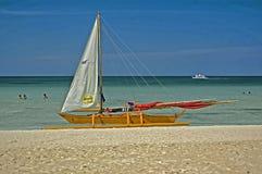 Wyrzucać na brzeg odsadnia, Boracay wyspa, Filipiny Fotografia Royalty Free