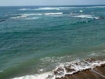 Wyrzucać na brzeg w las palmas De Gran Canaria, wyspy kanaryjska Obrazy Stock
