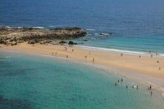 Wyrzucać na brzeg, zaludnia, Pechon, Cantabriaja, Obraz Royalty Free