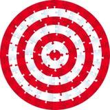 Wyrzynarki łamigłówki okrąg ilustracji