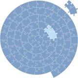 wyrzynarki łamigłówki spirala royalty ilustracja