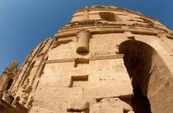 wysklepia colosseum niszczącego tunezyjczyka Fotografia Royalty Free