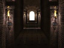 Wysklepia korytarz Zdjęcie Stock