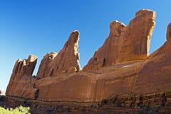 wysklepia wysklepiającego parkowego Utah Obrazy Royalty Free