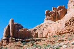 wysklepia wysklepiającego parkowego Utah Zdjęcia Royalty Free