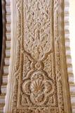 Wysklepia z ulgami plasterwork przy Casa De Pilatos Pałac w Seville, Hiszpania Fotografia Royalty Free