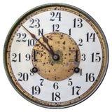 Wysoce dekorujący wczesny xx wiek clockface Fotografia Royalty Free