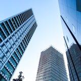 Wysocy biznesowi budynki Obrazy Royalty Free