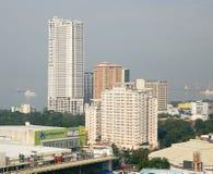 Wysocy budynki w Manila, Filipiny Obraz Stock
