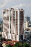 Wysocy budynki w Manila, Filipiny Zdjęcie Stock