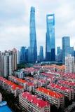 Wysocy budynki w Szanghaj obraz stock