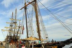 Wysocy statki Ameryka Obrazy Royalty Free