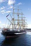 WYSOCY statki REGATA Varna, Bułgaria Obraz Royalty Free