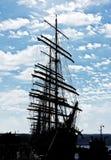 WYSOCY statki REGATA Varna, Bułgaria Obrazy Royalty Free