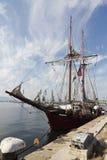 WYSOCY statki REGATA Varna, Bułgaria Zdjęcie Royalty Free