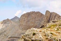 Wysocy szczyty Olympus Zdjęcie Stock