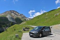 Wysoka Alpejska droga Grossglockner Fotografia Stock