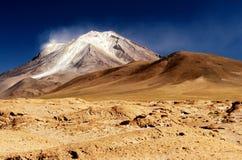 wysoka andyjski wulkan Zdjęcia Royalty Free