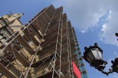 wysoka budowlanych Obrazy Royalty Free