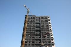 wysoka budynek budowa Obrazy Royalty Free