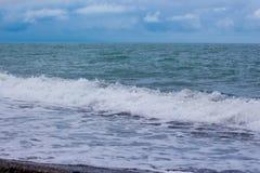 Wysoka fala na morzu Obrazy Stock