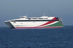 wysoka ferryboat prędkość Obraz Royalty Free