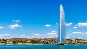 Wysoka fontanna w USA Fotografia Royalty Free