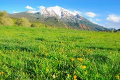 wysoka góra Zdjęcia Stock
