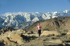 wysoka góra biegacz Obraz Stock
