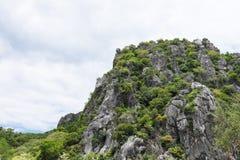 Wysoka góra widok w Tajlandia Fotografia Stock