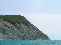 Wysoka kamienna góra w południowym kraju fotografia royalty free