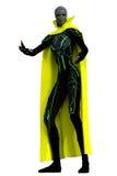 Wysoka nikła 3D obcego kobieta Obraz Stock