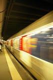 wysoka prędkość pociągu Obraz Stock