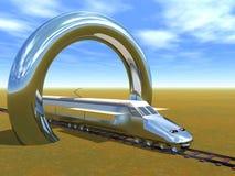 wysoka prędkość pociągu Zdjęcie Stock