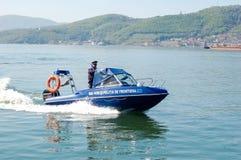 Wysoka prędkości łódź Fotografia Royalty Free