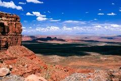 Wysoka pustynia - Moki Dugway Zdjęcia Stock