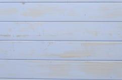 Wysoka rozdzielczość biali błękitni drewniani tła fotografia stock