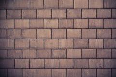 Wysoka rozdzielczość kremowa ściana z cegieł tekstura fotografia stock