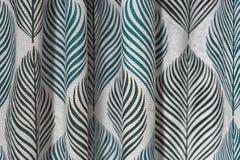 Wysoka rozdzielczość obrazek bielu i zieleni rolek tekstylna tekstura Obraz Stock