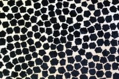 Wysoka rozdzielczość obrazek szara i biała mozaic miękka dywanowa tekstura Obraz Stock