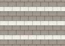 Wysoka rozdzielczość szarego i białego cementu bloki izoluje tło ilustracji