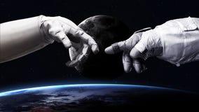 Wysoka rozdzielczość wizerunek ziemia w przestrzeni elementy fotografia royalty free
