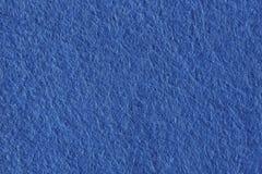 Wysoka rozdzielczość zakończenie up błękitna odczuwana tkanina Fotografia Stock