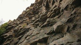 Wysoka skała dla mountaineering zbiory