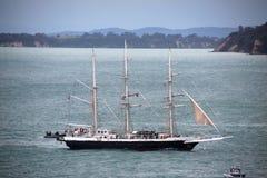 Wysoka statek władyka Nelson w Auckland Zdjęcia Royalty Free