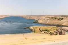 Wysoka tama - Egipt zdjęcie stock