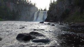 Wysoka Woda spadki zbiory wideo